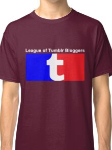 League of Tumblr Bloggers Classic T-Shirt