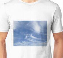 Stripey clouds Unisex T-Shirt