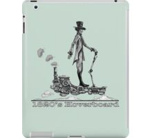 Steampunk Hoverboard iPad Case/Skin