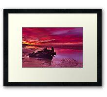 """""""Waiting For The Sunrise"""" Framed Print"""