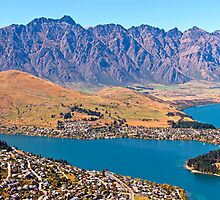 Queenstown Panorama by Bill  Robinson