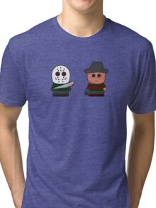 Freddy vs Jason Tri-blend T-Shirt