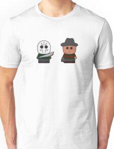 Freddy vs Jason Unisex T-Shirt