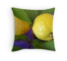 Guavas Throw Pillow
