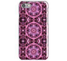 Alternative Abstract Pink and Black Pattern iPhone Case/Skin
