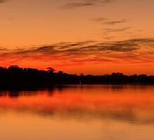 The Awakening - Narrabeen Lakes, Sydney (Panoramic) - The HDR Experience by Philip Johnson