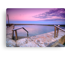 Mona Vale in Pink Canvas Print