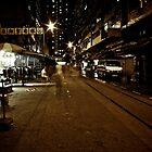 Street of Forgotten Shoppers by Daniel Chang