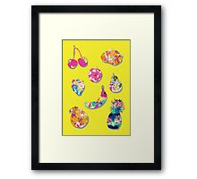 Summer Fruit Framed Print