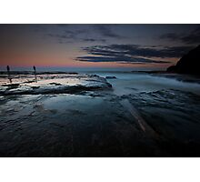 Dusk at Sydney Northern Beaches Photographic Print
