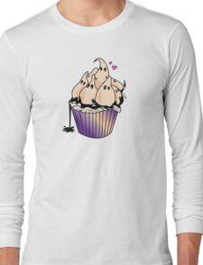 Ghost Cupcake Long Sleeve T-Shirt