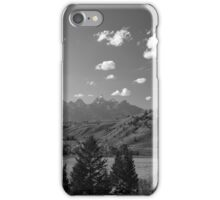 The Grand Tetons in summer iPhone Case/Skin