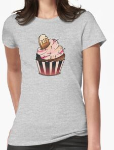 R.I.P Cupcake Womens Fitted T-Shirt