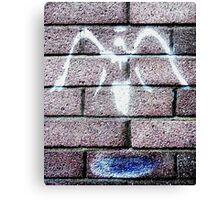 Urban Angel - Grey  Canvas Print
