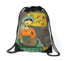 A Modern Day Gypsy Drawstring Bag