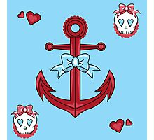 Anchor Cutie Photographic Print