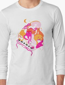 Jazz Cats Long Sleeve T-Shirt