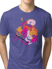 Jazz Cats Tri-blend T-Shirt