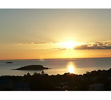 Victor Harbor Sunrise Photographic Print