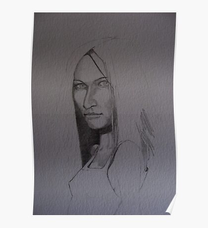 Sketch for Constance Poster
