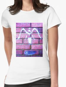 Urban Angel - Pink Womens Fitted T-Shirt