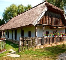 Old village house in Hungary by jullyet