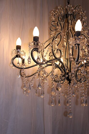 The Crystal Chandelier by Nadja  Farghaly