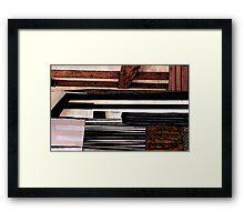 Mostly Horizontal Framed Print