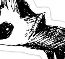 Cute Fox Graphic Sticker