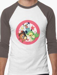 Pokemon starter II Men's Baseball ¾ T-Shirt