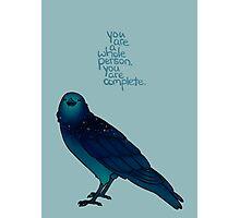 Cosmic Crow Photographic Print