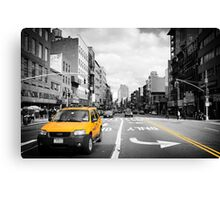 The cab... Canvas Print