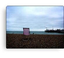 The Deck Chair Canvas Print