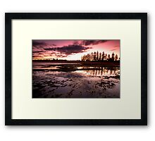 Last Light - Mona Vale Framed Print