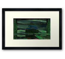 Alien Ale Framed Print