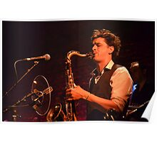 Samuel plays the Sax - IV Poster