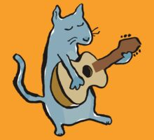 cat serenade by greendeer