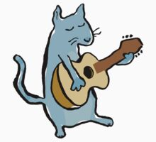 cat serenade Kids Clothes