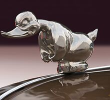 Angry Duck Hood Ornament by DaveKoontz