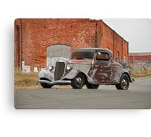 1934 Ford 'Survivor' Coupe Canvas Print
