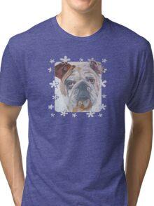 Yale The American Bulldog Tri-blend T-Shirt
