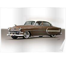 1954 Chevrolet Bel Air Sedan Poster