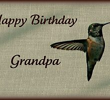 Grandpa Birthday card by AngieBanta