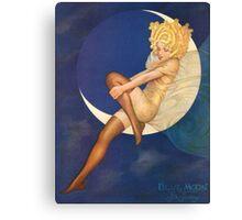 Blue Moon Silk Stockings - Vintage Advertising Art Canvas Print
