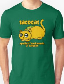 Funny - Tacocat Spelled Backwards (vintage look) T-Shirt