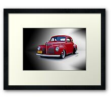1940 Plymouth Coupe Framed Print