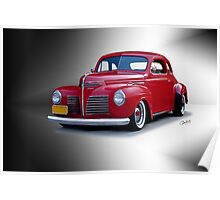 1940 Plymouth Coupe Poster