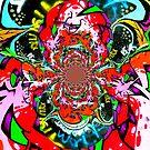 Twisted Graffiti # 6 by David Schroeder