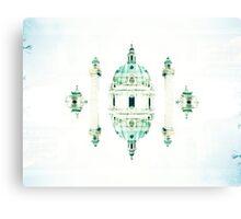 turn my world//vienna Canvas Print