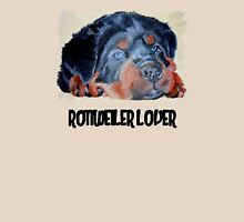 Rottweiler Lover Womens Fitted T-Shirt